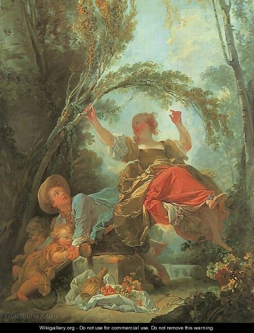 The See-Saw - Jean-Honore Fragonard