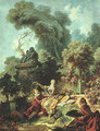 The Lover Crowned 1771-73 - Jean-Honore Fragonard