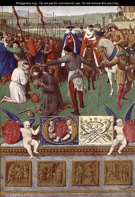 The Martyrdom of St James the Great 1452-60 - Jean Fouquet