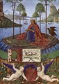 St John at Patmos 1452-60 - Jean Fouquet