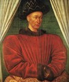 Portrait of Charles VII of France c. 1445 - Jean Fouquet