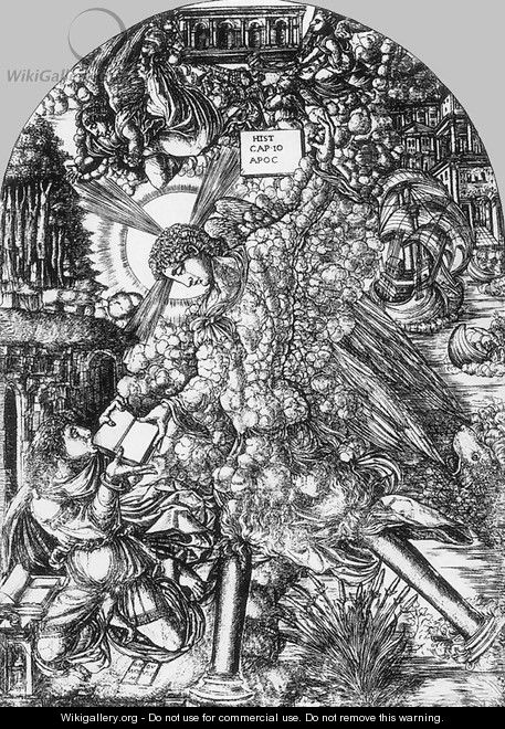 Illustration to the Apocalypse 1550s - Jean Duvet