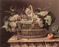 Basket of Grapes - Pierre Dupuys