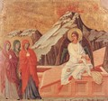 The Three Marys at the Tomb 1308-11 - Duccio Di Buoninsegna