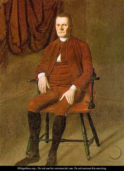 Portrait of Roger Sherman 1775 - Ralph Earl