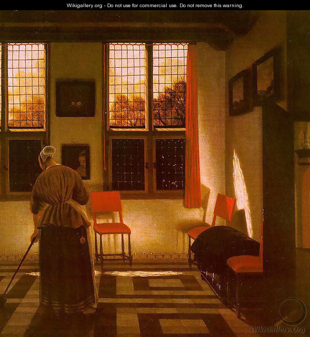 Room in a Dutch House - Pieter Janssens Elinga
