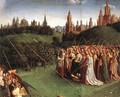 The Ghent Altarpiece- Adoration of the Lamb (detail 6) 1425-29 - Jan Van Eyck