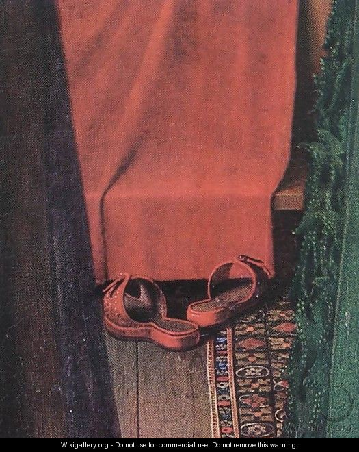 jan van eyck giovanni arnolfini and his bride 1434