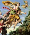 The Assumption of Mary Magdalene into Heaven 1620 - Domenichino (Domenico Zampieri)