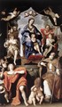 Madonna and Child with St Petronius and St John the Evangelist 1629 - Domenichino (Domenico Zampieri)
