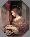 St Cecilia at the Organ 1671 - Carlo Dolci