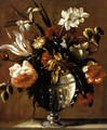 Vase of Flowers c. 1650 - Diego Valentin Diaz