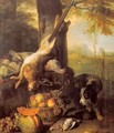 Still-Life with Dead Hare and Fruit 1711 - Alexandre-Francois Desportes