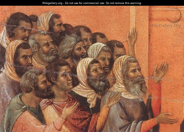 Christ Accused by the Pharisees (detail) 1308-11 - Duccio Di Buoninsegna