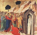 Resurrection of Lazarus 1308-11 - Duccio Di Buoninsegna