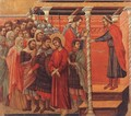 Pilate Washing his Hands 1308-11 - Duccio Di Buoninsegna