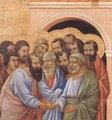 Parting from St John (detail) 1308-11 - Duccio Di Buoninsegna