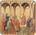 Disputation with the Doctors 1308-11 - Duccio Di Buoninsegna