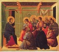 Christ Taking Leave of the Apostles 1308-11 - Duccio Di Buoninsegna