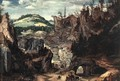 Landscape with Shepherds 1550-60 - Cornelis Van Dalem