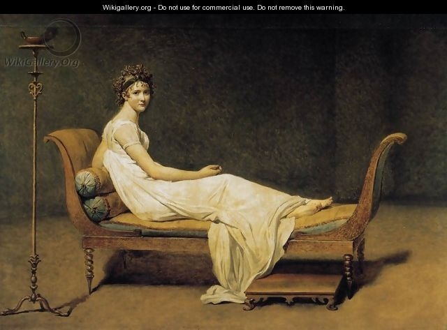 Madame Récamier 1800 - Jacques Louis David