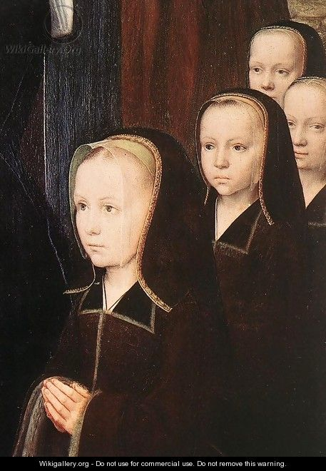 Triptych of Jean Des Trompes (detail) 1505 - Gerard David
