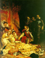 The Death of Elizabeth I, Queen of England 1828 - Paul Delaroche