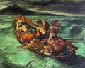Christ on the Lake of Gennesaret - Eugene Delacroix