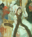 Portrait after a Costume Ball (Portrait of Madame Dietz-Monnin) 1877-79 - Edgar Degas