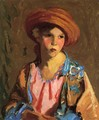 Mildred O Hat - Robert Henri