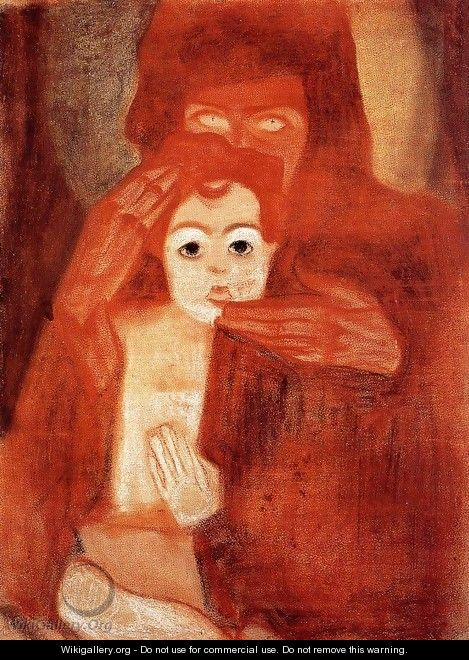Mother And Child Aka Madonna - Egon Schiele