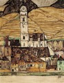 Stein On The Danube - Egon Schiele