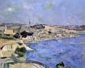 Saint Henri And The Bay Of L Estaque - Paul Cezanne