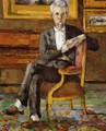Portrait Of Victor Chocquet Seated - Paul Cezanne