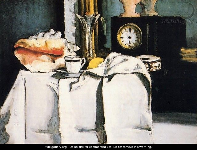 The Black Clock - Paul Cezanne