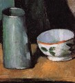 Still Life Bowl And Milk Jug - Paul Cezanne