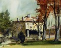The Manor House At Jas De Bouffan - Paul Cezanne