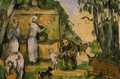 The Fountain - Paul Cezanne