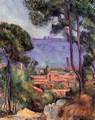 View Through The Trees - Paul Cezanne