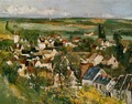 View Of Auvers Sur Oise - Paul Cezanne