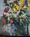 Two Vases Of Flowers - Paul Cezanne