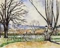 The Trees Of Jas De Bouffan In Spring - Paul Cezanne