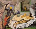 Afternoon In Naples With A Black Servant - Paul Cezanne