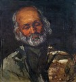 Head Of An Old Man - Paul Cezanne
