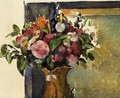 Flowers In A Vase2 - Paul Cezanne