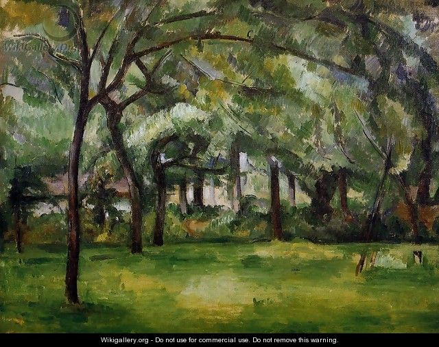 Farm In Normandy Summer Aka Hattenville - Paul Cezanne