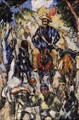 Don Quixote Seen From The Front - Paul Cezanne