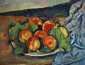Dish Of Peaches - Paul Cezanne