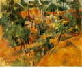 Corner Of The Quarry - Paul Cezanne