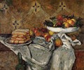 Compotier And Plate Of Biscuits - Paul Cezanne